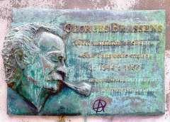 impasse Florimont plaque Georges Brassens.JPG