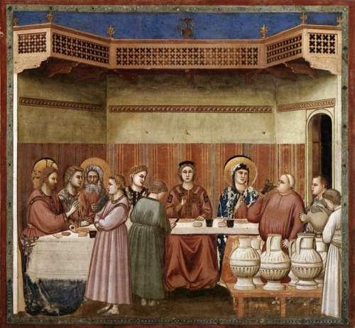 Giotto noces de Cana à Padoue.jpg