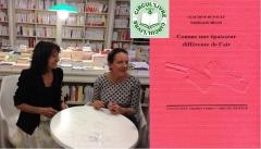 Circul'livre dédicace  comme une épaisseur différente de l'air Claudine Hunault et Nathalie Milon 4 juillet place Brancusi.jpg