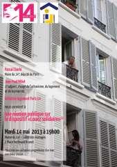 louez solidaire,collectif logement paris 14