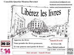 circul'livre, conseil de quartier mouton-duvernet 75014, place michel audiard 75014