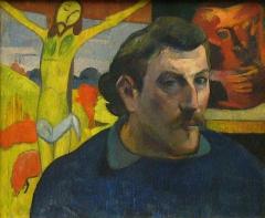 Gauguin auto portrait au christ jaune.JPG