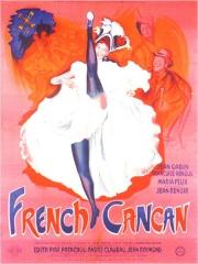 French-Cancan, Jean Renoir, Jean Gabin, Françoise Arnould