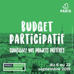 budget participatif 2019 à paris 14ème