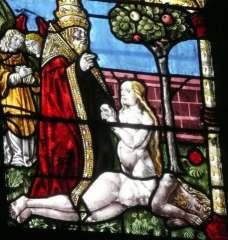 La  Création Adam et  Eve  vitrail B.Bustarret.jpg