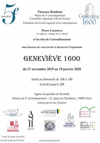 sainte genevieve invitation exposition du 27 nov 2019 au 19 janv 2020 à la mairie du 5ème.png