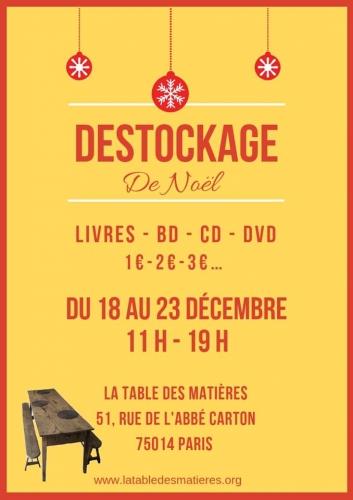 la table des matières 18 au 23 décembre déstokage de livres, bd.jpg