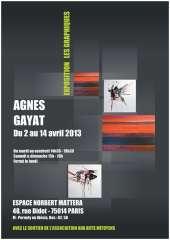 Expo Agnès Gayat les Graphiques.JPG