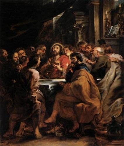la cène par rubens 1632.jpg