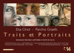 galerie du montparnasse 75014,Elsa Oriol, Pancho