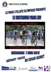 course cycliste 7 juin 2017 bd Edgar Quinet affiche-paris-14-originale.jpg