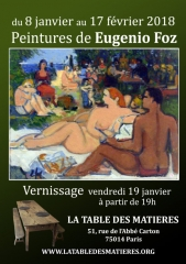 la Table Des Matières  expo Eugenio Foz 8 jan au 17 fev 2018.jpg