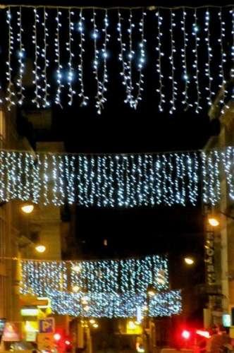 la rue du Montparnasse et son rideau de lumière décembre 2011 photo Marie   Belin.JPG