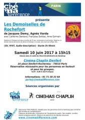 Cinémadifférence 10 juin 2017 les demoiselles de Rochefort au Chaplin.jpg