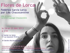 Atelier du verbe , Frederico Garcia Lorca