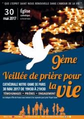 veillée de prière pour la vie dans les diocèses d'ile-de france 30 mai  2017 jpg.jpg
