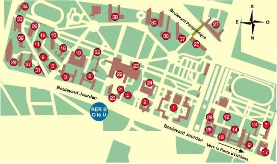 Plan De Foyer Universitaire : Cité internationale lavoixdu e