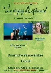 le voyage d'espérance spectacle musical 29 novembre à la maison alésia -jeunes.jpg