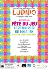 Fête du jeu organisée par Ludido 26 mai place de la Garenne.JPG