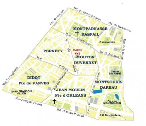 quartier didot- porte de vanves