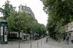 rue Sarette vue de la rue d'Alésia.JPG