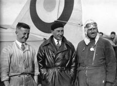 René Mesmin, Joseph Le Brix, Marcel Doret, 1931.jpg