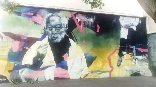 fresque en hommage à Zao Wu Ki photo monique garrigue.jpg