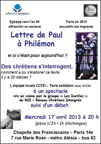ccfd,paul,philémon,solidarité,franciscains