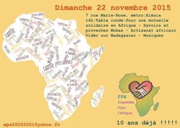 Ensemble pour l' Afrique dimanche 22 novembre 2015 couvent Saint François.jpg