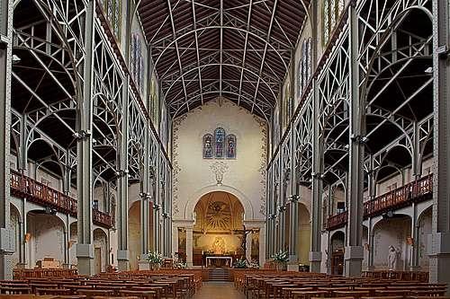 Travaux De Transformation De L Interieur De L Eglise Notre Dame Du