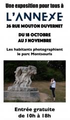les habitants photographient le parc Montsouris expo à l'annexe de la Mairie du 18 oct au 5 nov 2019.jpg