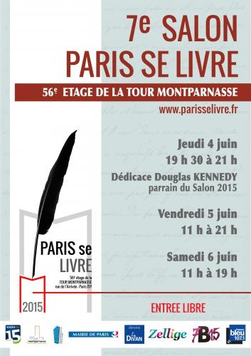 Paris se livre salon du livre au 56 étage de la Tour Montparnasse juin 2015.jpg image en grand.jpg