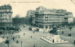 Exposition sur la place Denfert-Rochereau organisée par la société historique et archéologique du 14ème du 8 octobre 2012.jpg