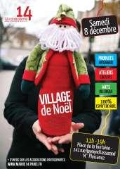 village de noël 8 décembre 2012 place de la fontaine Raymond Losserand.jpg