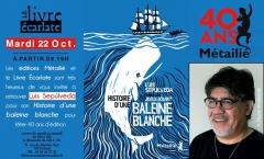le livre ecarlate 22 octobre rencontre avec luis Sepulveda 40 ans des éditions Métailié.jpg