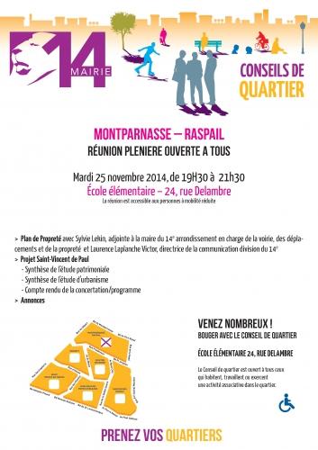 conseil de quartier montparnasse- rapsail