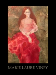 la femme à la robe rouge expo Marie- Laure Viney 6 au 18 novembre 2017.jpeg