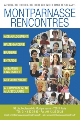 Montparnasse - Rencontres association d'éducation populaire 92bis bd Montparnasse.jpg