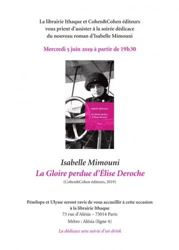 librairie Ithaque 5 juin 2019 rencontre dedicace avec Isabelle Mimouni 19h30.jpg