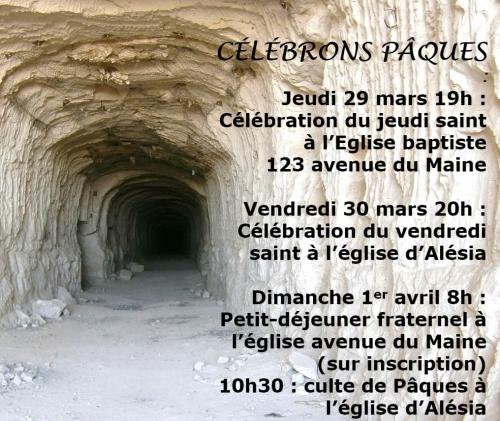 Eglise Evanélique Libre rue d' alésia célébrations de Paques.jpg