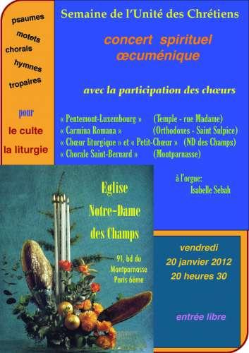 Concert oecuménique,  20 janvier 2012 à 20 h 30 - Notre-Dame-des-Champs copie.jpg
