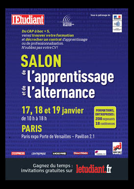 8 emploi for Salon de l apprentissage et de l alternance