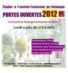 portes ouvertes faculté de théologie protestante boulevard Arago 4 juin 2012.jpg