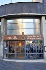 Robert Dumont, Jacques Musset et Robert Giri, Chapelle Saint Bernard de Montparnasse