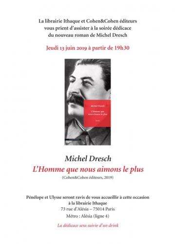 librairie ithaque 73 rue d' alésia 75014,michel dresch