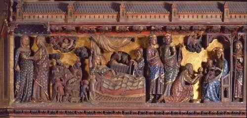 Notre Dame de Paris la Visitation, la Nativité et l'adoration des Mages.jpg