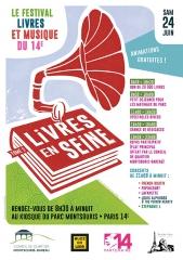 livres en Seine, parc Montsouris