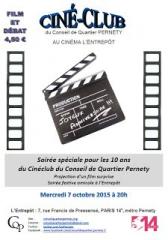 cinéclub pernety, conseil de quartier Pernety