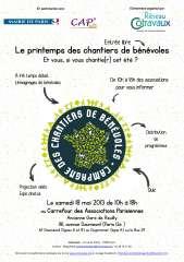 Programme Carrefour des Associations Parisiennes chantiiers de bénévoles 18 mai 2013 P1.jpg