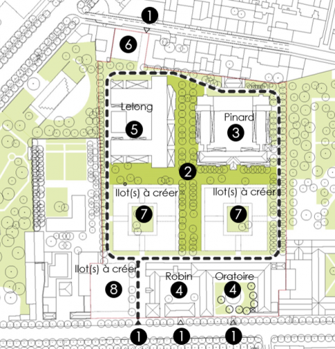 quartier  saint Vincent de Paul plan du projet.png